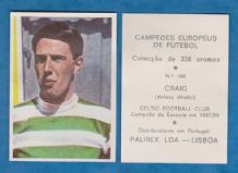 Glasgow Celtic Jim Craig Scotland 160